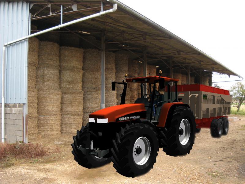 Pin coloriage tracteur img 3097 froblog on pinterest - Dessin anime de tracteur john deere ...