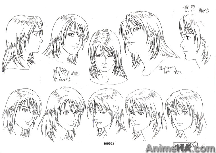 Fabuleux Forum Dessiner Manga • Afficher le sujet - [Model Sheets] Angel Heart TQ04