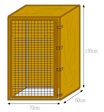 physignatus cocincinus construction d 39 un terrarium en bois. Black Bedroom Furniture Sets. Home Design Ideas